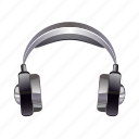 audio, earphones, earspeakers, headphones, music, sound icon