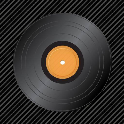 audio, lp, old, retro, vintage icon