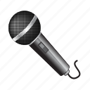 microphone, music, sound, speaker, voice icon