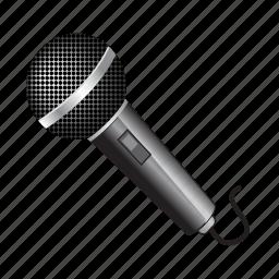 microphone, music, sound, speaker, voice icon