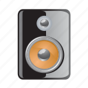 loud, media, music, sound, speaker icon