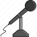 microphone, music, musical, radio, radio station, turn up, waves icon