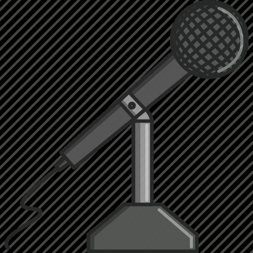microphone, music, musical, radio, radio station, turn up, waves icon
