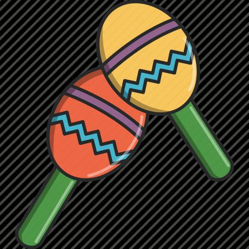 banda, dance, maracas, move, music, musical, sing icon
