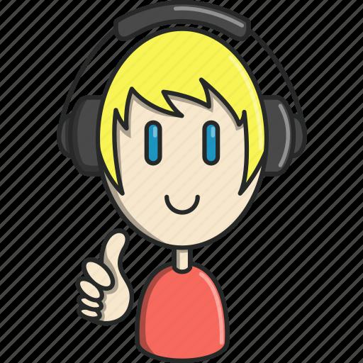 dance, dj, headphones, music, musical, singer icon