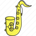 artist, band, dance, jazz, music, musical, saxophone icon