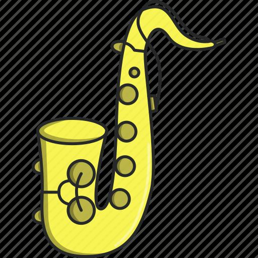 artist, band, dance, jazz, music, musical, saxophone icon
