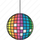 dance, dance floor, disco, disco ball, music, musical icon
