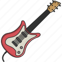 dance, electric guitar, guitar, music, musical, singer, song icon