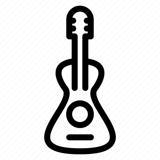 guitar, media, melodies, music, play, song icon