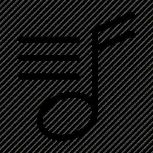 audio, list, menu, music, song, sound icon