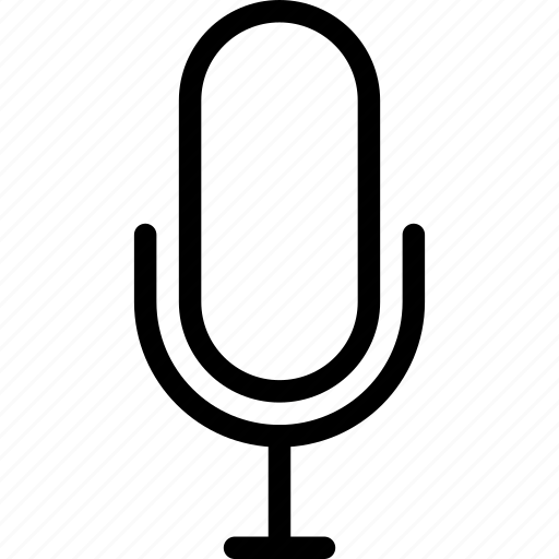 audio, microphone, multimedia, sound icon