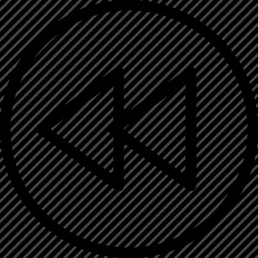 arrow, direction, precious, previous icon