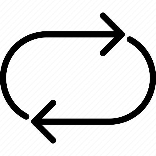 download, refresh, repeat, sync icon