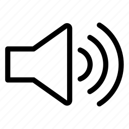 audio, muted, speaker, volume100 icon