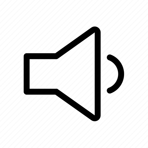 audio, muted, volume, volume25 icon