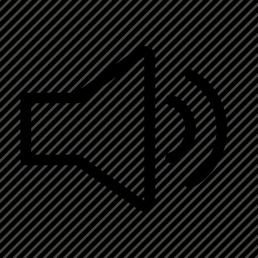 audio, muted, volume, volume50 icon