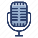 electric mic, input device, mic, recording microphone, voice recorder icon
