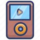 audio music, ipod, music, music player, portable device, portable ipod icon