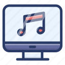 computer music, computer songs, computer songs playlist, system music, system songs icon