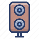 loudspeaker, output device, sound, sound speaker, volume icon