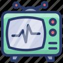broadcast, retro screen, retro television, television, tv, vintage tv icon
