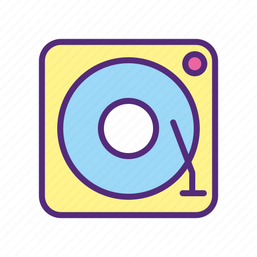 audio, gramophone, music, player, turn table, vinyl icon