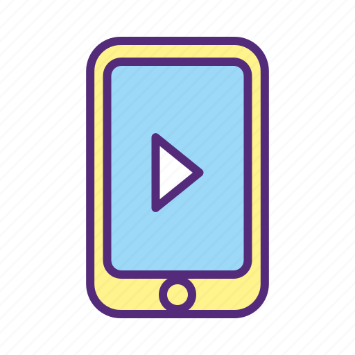 app, audio, download, music, phone, smartphone, streaming icon