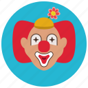 circus, clown, entertainment, preformer, creepy, funny