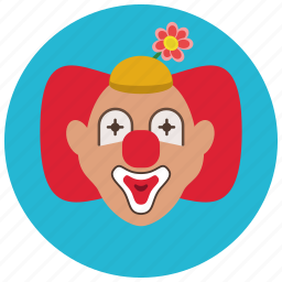 circus, clown, creepy, entertainment, funny, preformer icon