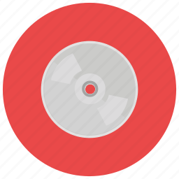 burn, cd, dvd, entertainment, music, share icon