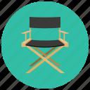chair, director, entertainment, movies, cinema
