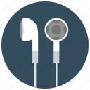 audio, ear buds, entertainment, headphones, listen, music icon