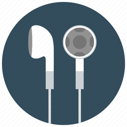 audio, ear buds, entertainment, headphones, listen, music icon