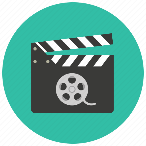 cinema, clapper, entertainment, film, movie, video icon