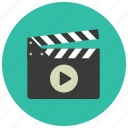 entertainment, play, cinema, clapper, film, movie