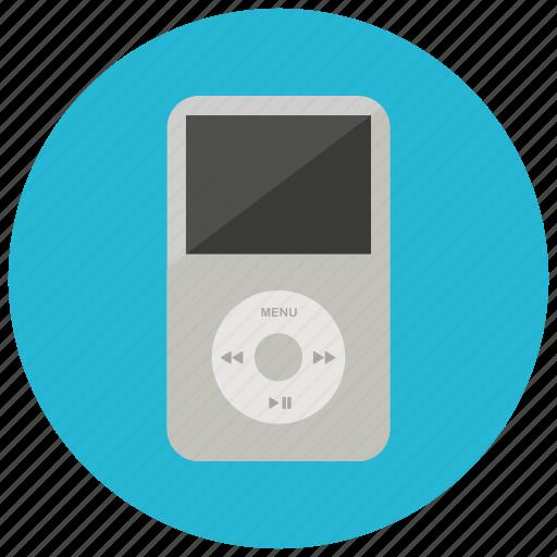 entertainment, ipod, listen, mp3, music, technology icon
