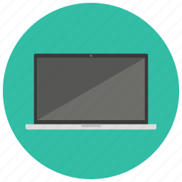 computer, entertainment, laptop, multimedia, technology icon