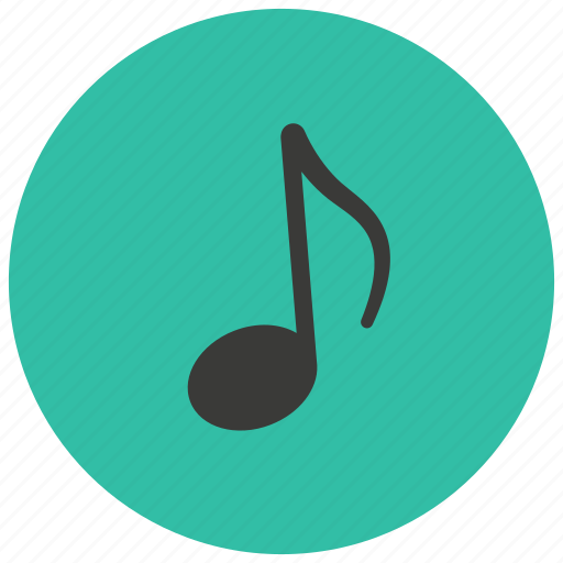 entertainment, music, note, song icon