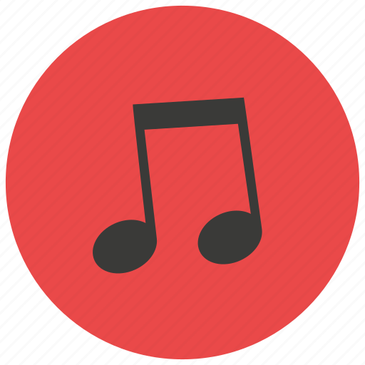 entertainment, music, notes, song icon