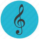 entertainment, music, read, rest, sheet, sign icon