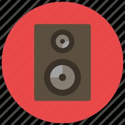 audio, entertainment, loud, music, noise, sound, speaker icon