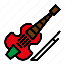 contre bass, double bass, instrument, music, orchestra icon
