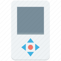 ipod, mp4 player, music player, portable device, walkman icon
