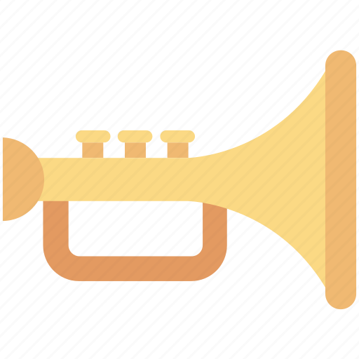 bugle, music, music instruments, saxophone, trumpet icon