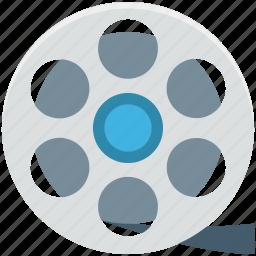camera reel, cinema, film reel, image reel, movie reel icon