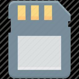 data storage, memory card, microchip, microsd, sd memory icon