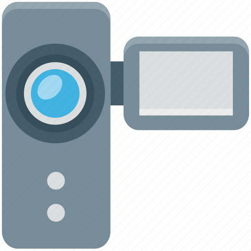 camcorder, camera, handy cam, video camera, video recording icon