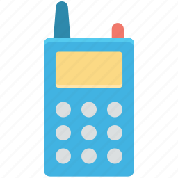 communication, cordless phone, police radio, radio transceiver, walkie talkie icon