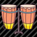 classical instrument, drum khol, drums, mridangam, musical instruments, pakhawaj, tabla icon